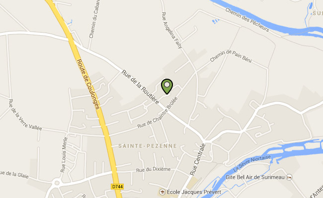 google map chantemerle